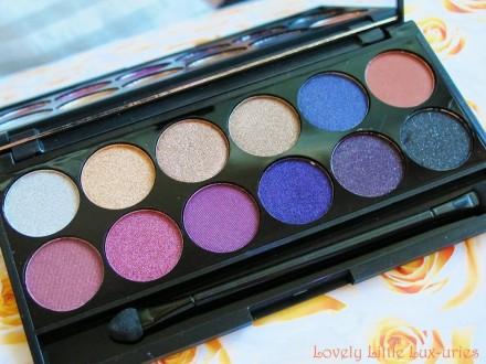 Палетка теней Sleek MakeUp Eyeshadow Palette I-Divine 12 тонов Vintage Romance: фото