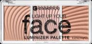 Палетка люминайзеров Light up your fase luminizer palette Essence 10 ready, set, glow!: фото