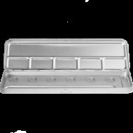 Пенал-палитра металлическая для акварели Make-Up Atelier Paris M6C на 6 позиций: фото