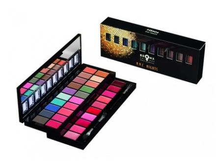 Палетка теней и помад Bronx Colors Makeup Set NYC NIGHTS MS904: фото