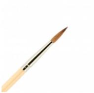 Кисть для ногтей акрил ВАЛЕРИ-Д из волоса колонка №4 круглая: фото