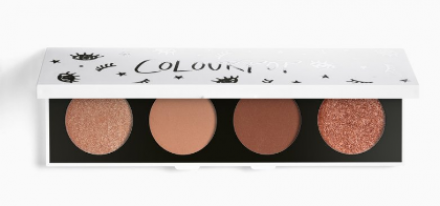 "Палетка теней ColourPop 4 цвета Pressed Powder Shadow Palette ""On the daily"": фото"