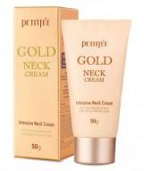 Крем для шеи антивозрастной с золотом PETITFEE Advanced gold neck cream 50г: фото