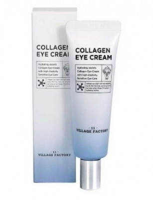 Крем вокруг глаз с коллагеном VILLAGE 11 FACTORY Collagen Eye Cream: фото