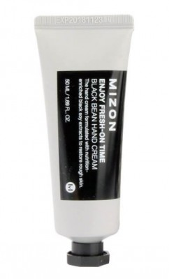 Крем для рук с экстрактом соевых бобов MIZON Enjoy Fresh On-Time Black Bean Hand Cream: фото