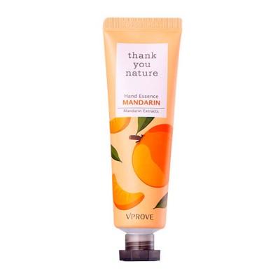 "Крем-эссенция VPROVE для рук увлажняющий ""Thank You Nature"" мандарин, 30 мл: фото"