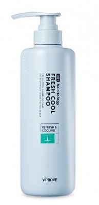 Освежающий шампунь VPROVE Hairtology fresh cool shampoo 490мл: фото