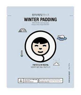 Маска для лица увлажняющая THE FACE SHOP Winter padding moisturizing cream face mask 20 г: фото