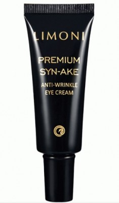 Антивозрастной крем для век со змеиным ядом LIMONI Premium Syn-Ake Anti-Wrinkle Eye Cream 25 мл: фото