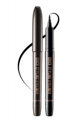 Подводка-лайнер черная SEANTREE Quick styling eyeliner Real black 1,2 г: фото