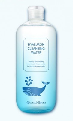 Очищающая вода для снятия макияжа SEANTREE Hyaluron cleansing water 500мл: фото