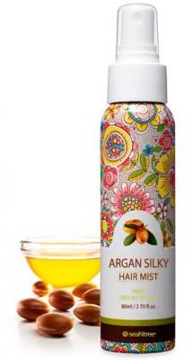 Мист с аргановым маслом для волос SEANTREE Argan Silky Hair Mist 80мл: фото