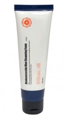 Пенка для умывания и бритья мужская с мадекассосидом A'PIEU Madecassoside Blue Cleansing Foam: фото