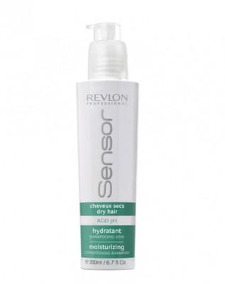 Увлажняющий шампунь - кондиционер для сухих волос Revlon Professional SENSOR MOISTURIZING SHAMPOO 200 мл: фото