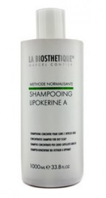 Шампунь для жирной кожи головы La Biosthetique Lipokerine A Shampoo For Oily Scalp Concentrate 1000мл: фото