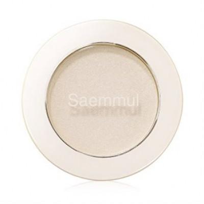 Тени для век мерцающие THE SAEM Saemmul Single Shadow Shimmer WH01 2гр: фото