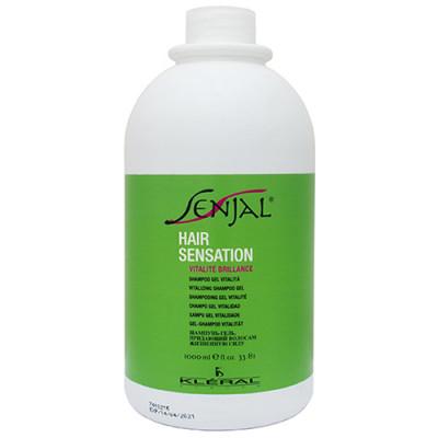 Шампунь-гель восстанавливающий для нормальных волос Kleral System Senjal Shampoo Gel Vitalita 1000 мл: фото