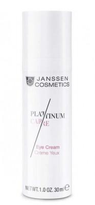 Крем для глаз реструктурирующий с пептидами и коллоидной платиной Janssen Cosmetics Platinum Care 30мл: фото