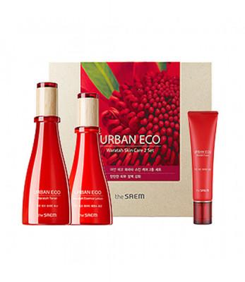 Набор уходовый с экстрактом телопеи THE SAEM Urban Eco Waratah Skin Care 2 Set 180мл/140мл/30мл: фото