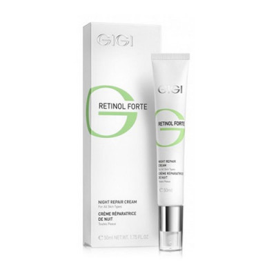 Крем-лифтинг ночной восстанавливающий GIGI Retinol Forte Night Cream 50 мл: фото