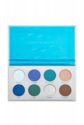 Палетка теней ColourPop Wet Pressed Powder Shadow Palette: фото