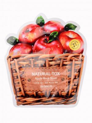 Маска тканевая яблочная THE SAEM Natural-tox Apple Mask Sheet 20гр: фото