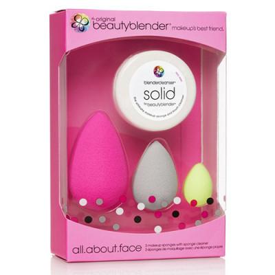 Набор beautyblender all.about.face set розовый 3шт: фото