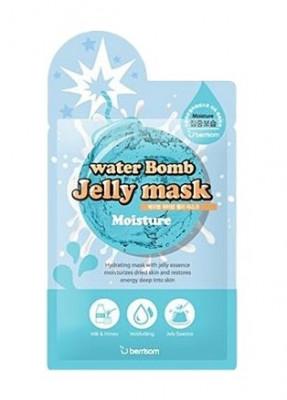 Маска для лица с желе увлажняющая Berrisom water Bomb Jelly mask moisture 33мл: фото