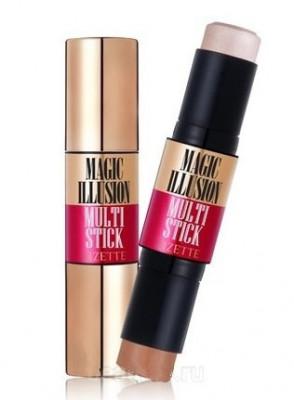 Контурный стик Lioele Rizette Magic Illusion Multi Stick Highlighter & Shadding 8г*2: фото