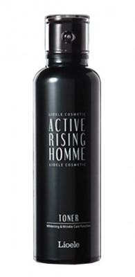Тонер для лица восстанавливающий Lioele Active Rising Homme Toner 120мл: фото