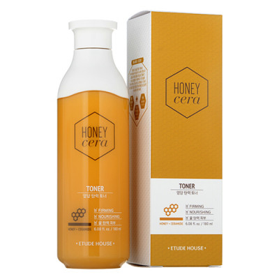 Тонер с экстрактом меда ETUDE HOUSE HONEY CERA TONER 180мл: фото