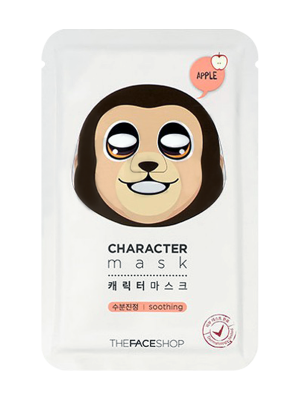 Маска для лица THE FACE SHOP CHARACTER MASK MONKEY 23г: фото