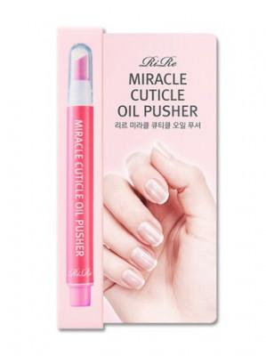 Карандаш для ухода за кутикулой с маслом RiRe Miracle Cuticle Oil Pusher 1,5г: фото