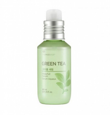 Сыворотка с зеленым чаем The Face Shop Green Tea WaterFull Serum 60 мл: фото
