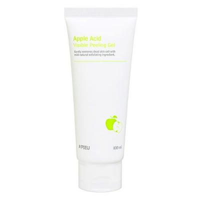 Пилинг-гель для лица яблочный A'PIEU Apple Acid Visible Peeling Gel 100мл: фото
