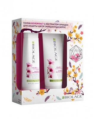 Набор для окрашенных волос Matrix Biolage Colorlast: шампунь 250 мл + кондиционер 200 мл: фото