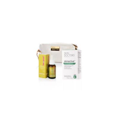 Набор Skin Doctors Восстановительный эффект: Absolute Apple F 30мл + Skinactive14™ regenerating n + КОСМЕТИЧКА: фото