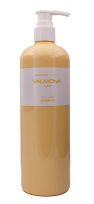 Шампунь для волос ПИТАНИЕ EVAS VALMONA Nourishing Solution Yolk-Mayo Shampoo 480 мл: фото