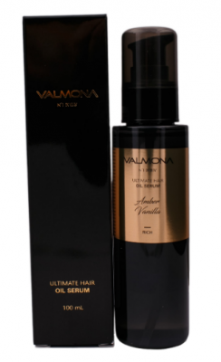 Сыворотка для волос ВАНИЛЬ EVAS VALMONA ULTIMATE HAIR OIL SERUM AMBER VANILLA 100 мл: фото