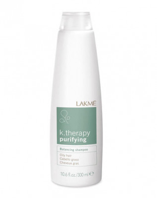 Шампунь восстанавливающий баланс для жирных волос LAKMÉ BALANCING SHAMPOO OILY HAIR 300 мл: фото