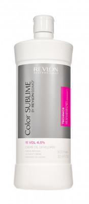 Кремообразный окислитель 4,5% Revlon Professional Revlonissimo Color Sublime DEVELOPER 15 VOL 900мл: фото
