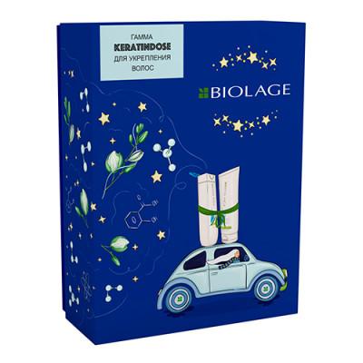 Набор Matrix Biolage Keratindose: Восстанавливающий Шампунь 250мл + Восстанавливающий Кондиционер 200мл: фото