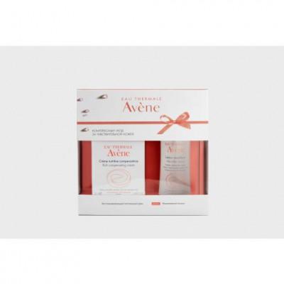 Набор Avene: Питательный компенсирующий крем 50 мл + Мицеллярный лосьон 100 мл: фото