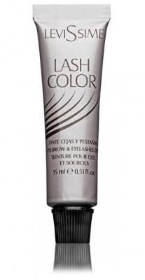 Краска для бровей и ресниц LEVISSIME #1 цвет черный 15 мл: фото