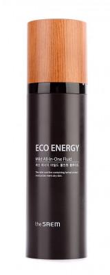 Флюид для мужчин THE SAEM ECO ENERGY Mild All In One Fluid 130мл: фото
