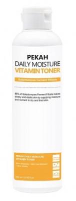Тонер на основе фильтрата дрожжевого гриба Галактомисис PEKAH Daily Moisture Vitamin Toner 250 мл: фото