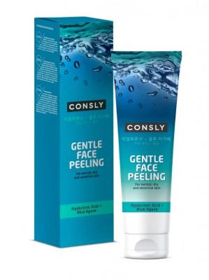 Гель отшелушивающий для деликатного очищения Consly Gentle Face Peeling with Hyaluronic Acid and Agave 120мл, CONSLY: фото