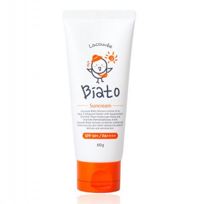 Детский солнцезащитный крем Lacouvee Biato Suncream SPF 50+/PA++++, 60 гр: фото