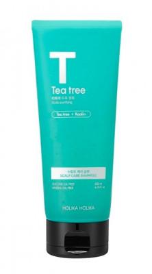 Шампунь-маска с маслом чайного дерева Holika Holika Tea Tree Scalp Care Shampoo 200 мл: фото