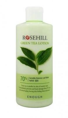 Лосьон для лица с экстрактом зеленого чая Enough RoseHill Green Tea Lotion 300мл: фото